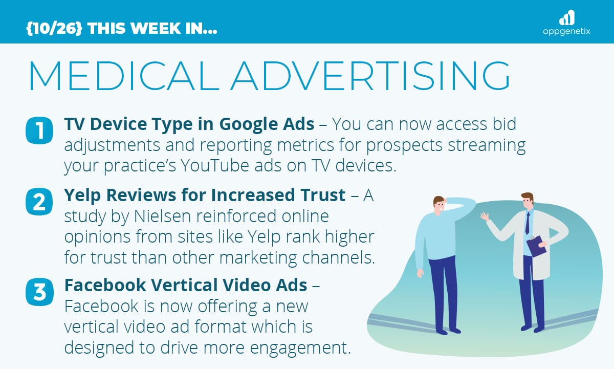 10/26 – This Week In…Medical Advertising