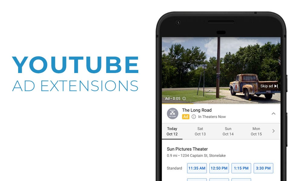 Google Rolling Out All-New YouTube Ad Extensions