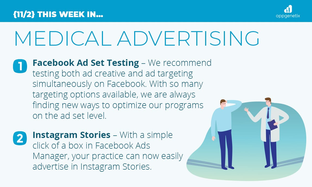 11/2 – This Week In…Medical Advertising