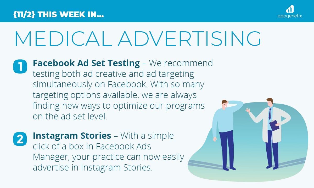 11/2 – This Week In Medical Advertising