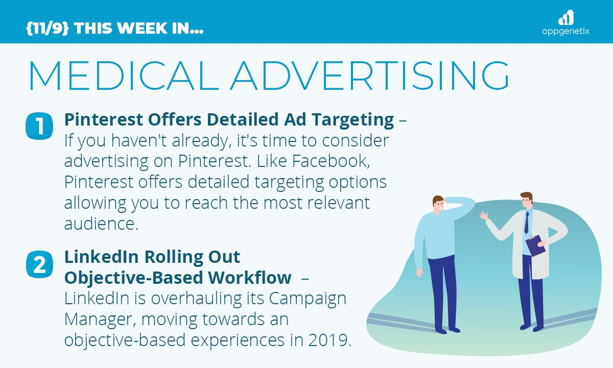 11/9 – This Week In…Medical Advertising
