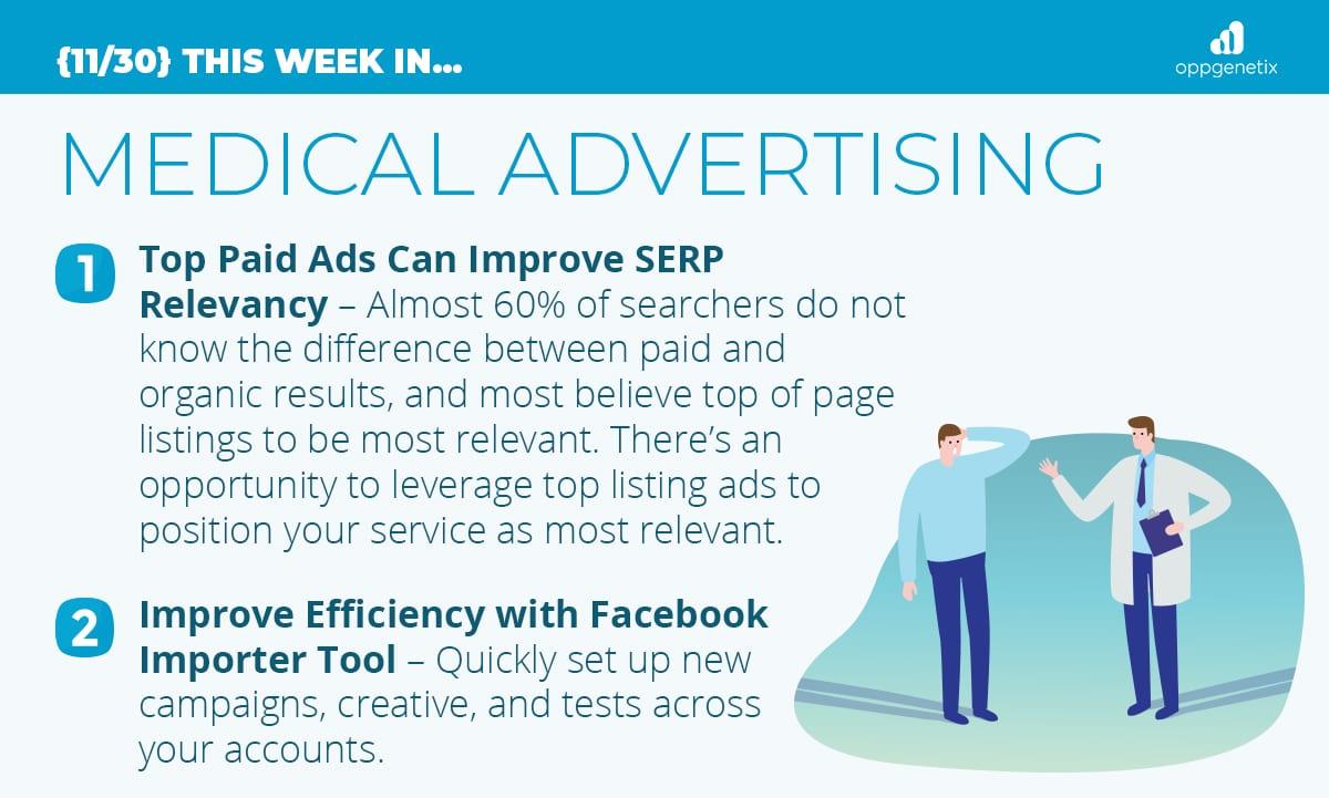 11/30 – This Week In Medical Advertising