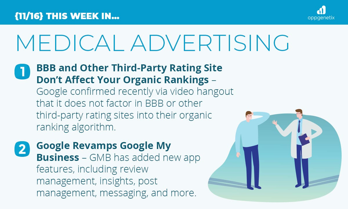11/16 – This Week In Medical Advertising