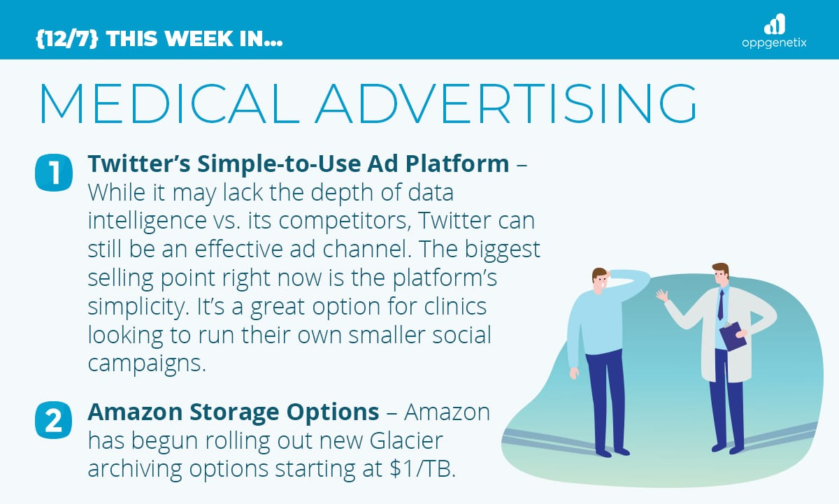 12/7 – This Week In…Medical Advertising