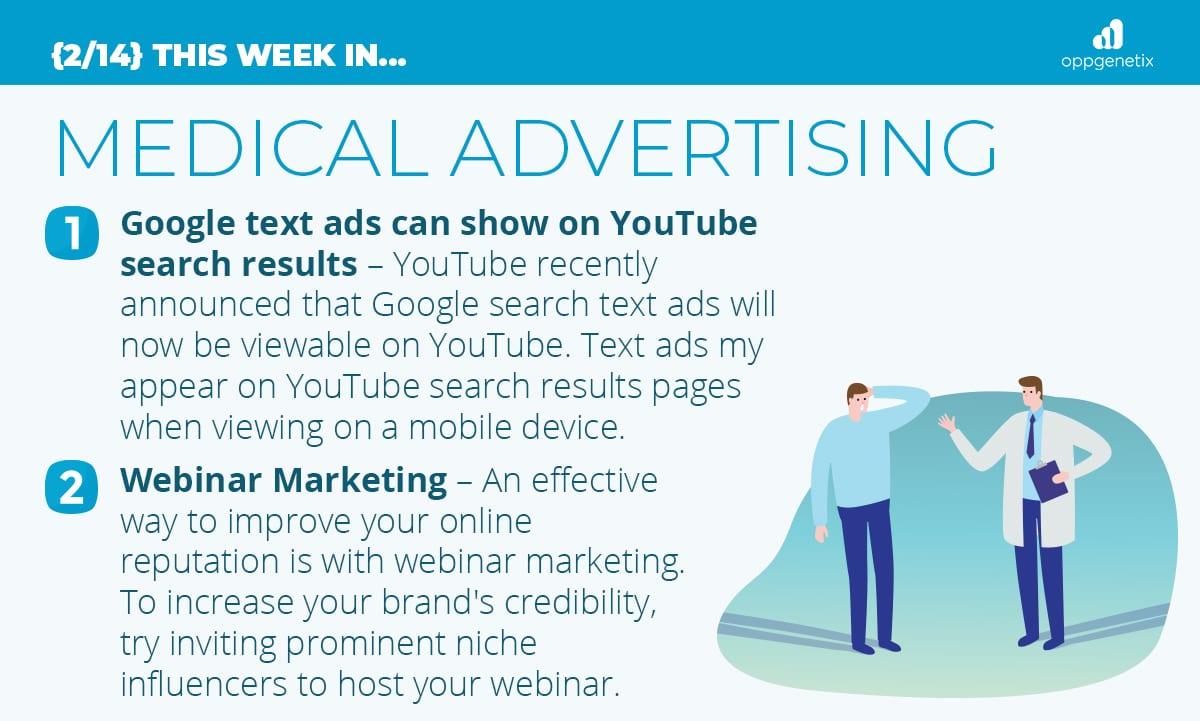 2/14 – This Week In Medical Advertising