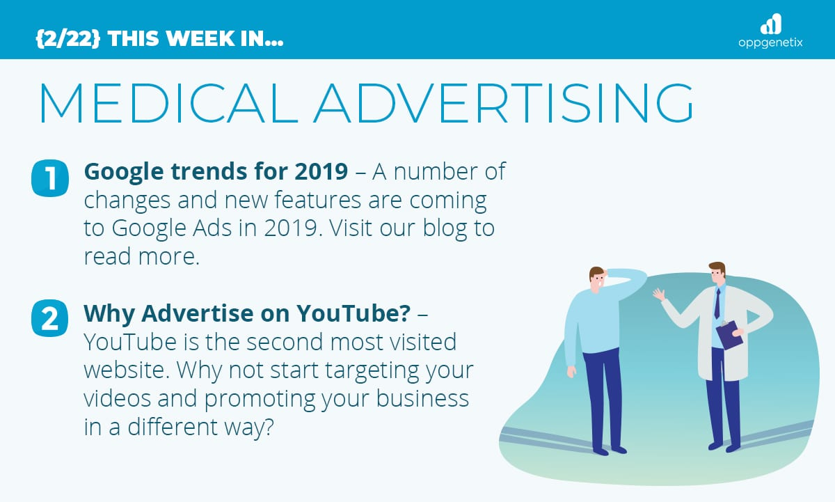 2/22 – This Week In…Medical Advertising